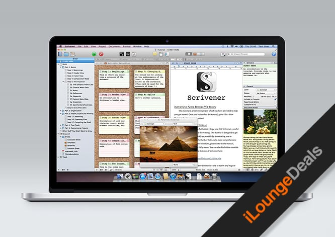 Daily Deal: Last Chance to get Scrivener 2 for 50% off