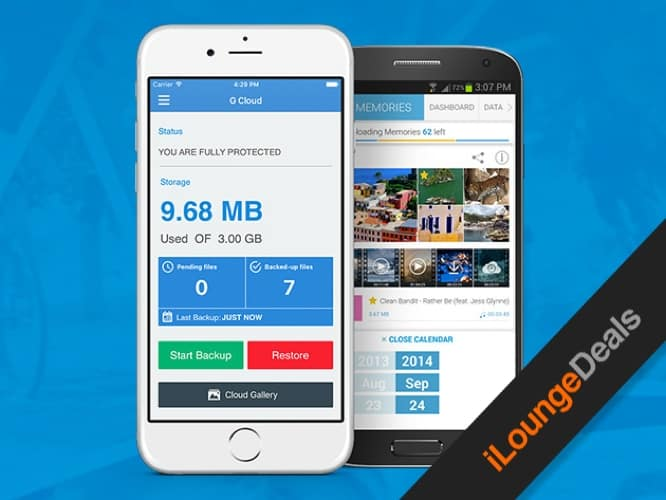 Daily Deal: G Cloud Unlimited Backup, Five Year Subscription