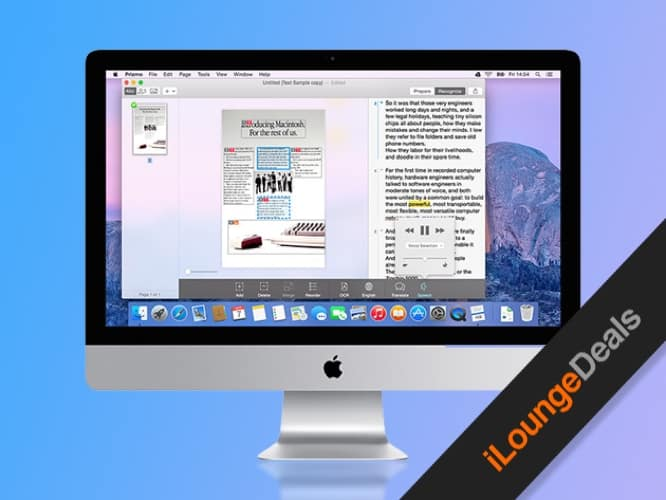 Daily Deal: Prizmo 3, Pro Scanning for Mac