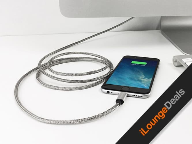 Daily Deal: Armour Charge Steel iOS Charging Cable
