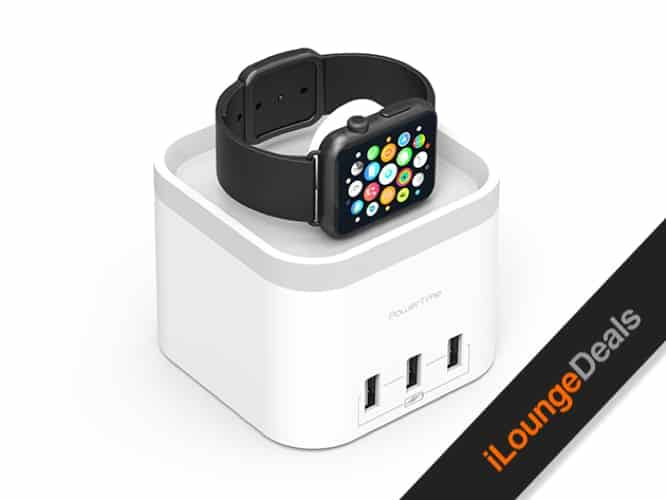 Daily Deal: PowerTime Apple Watch Charging Dock with 3 USB Ports