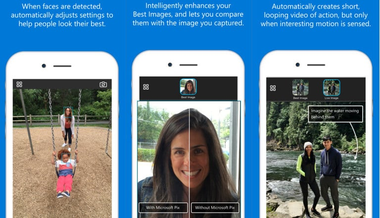 Microsoft releases Pix camera app for iPhone