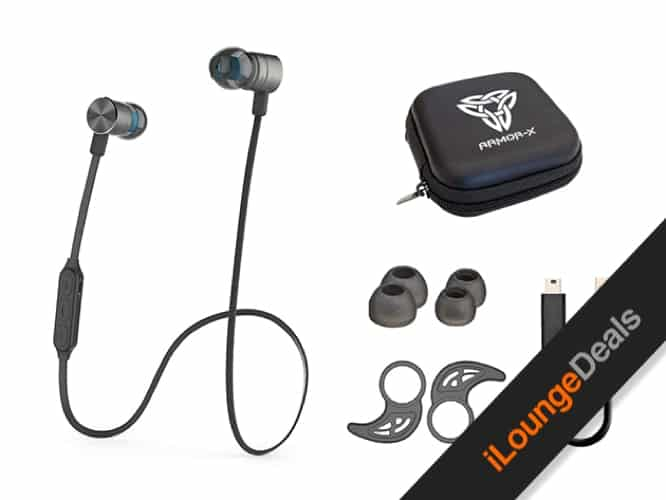 Daily Deal: Magnetic Bluetooth 4.1 Wireless Sport Headphones