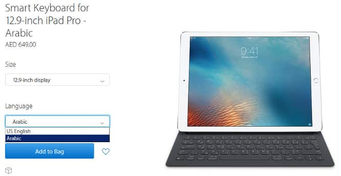 Apple debuts Smart Keyboard in new languages