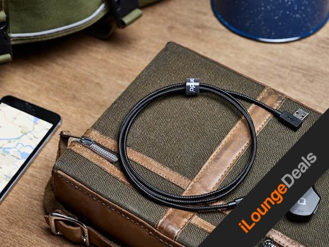Daily Deal: Zus Kevlar MFi Certified Lightning Cable