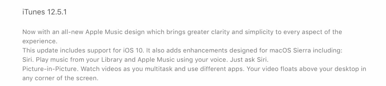Apple releases iTunes 12.5.1