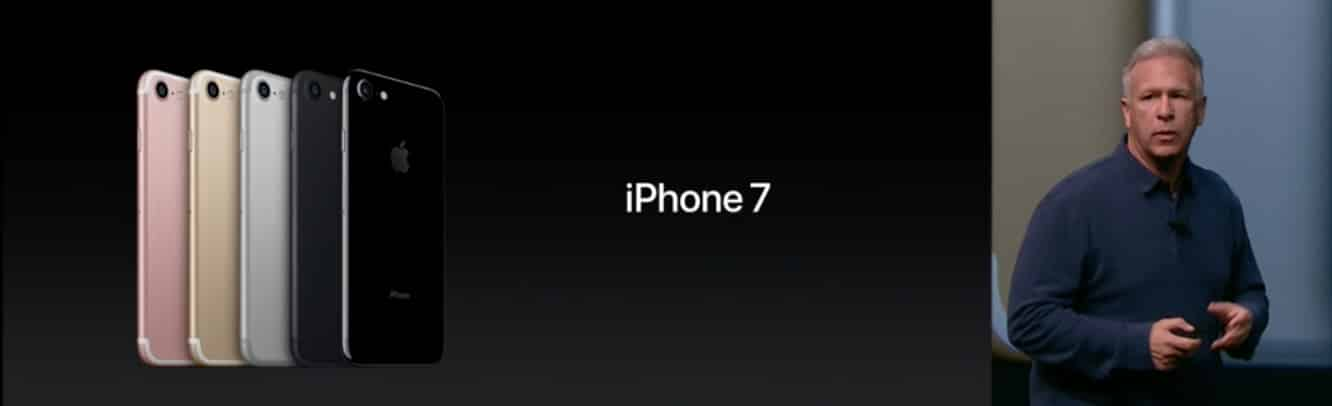 Apple's iPhone 7 & iPhone 7 Plus feature water resistance, force sensitive Home button, new cameras