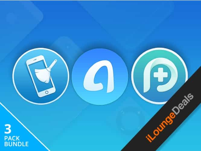 Daily Deal: iPhone Family Pack — AnyTrans, PhoneClean & PhoneRescue