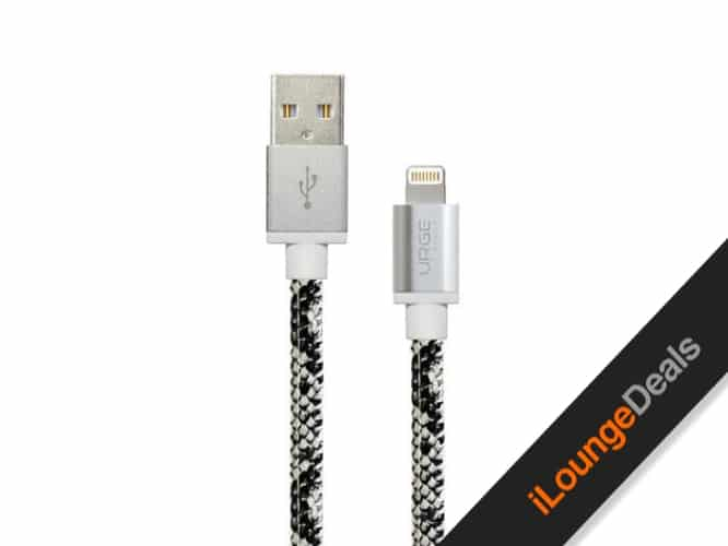 Daily Deal: Urge Basics Snakeskin MFi Certified Lightning Cable