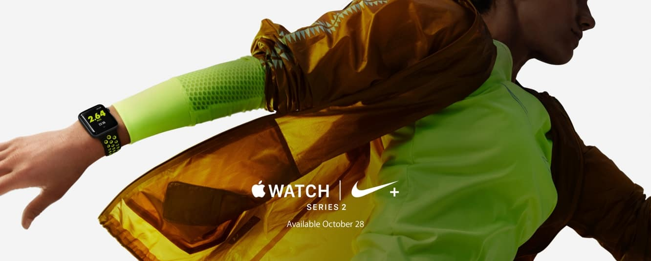 Apple Watch Nike+ Edition coming Oct. 28, AirPods still 'late October'
