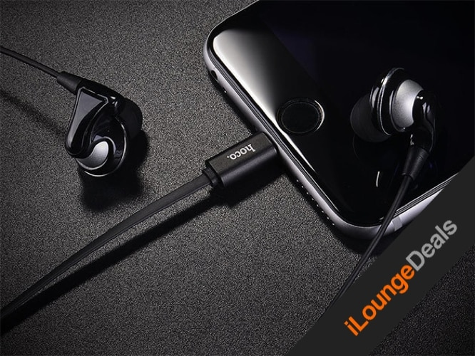 Daily Deal: HOCO L1 Lightning Cable Headphones