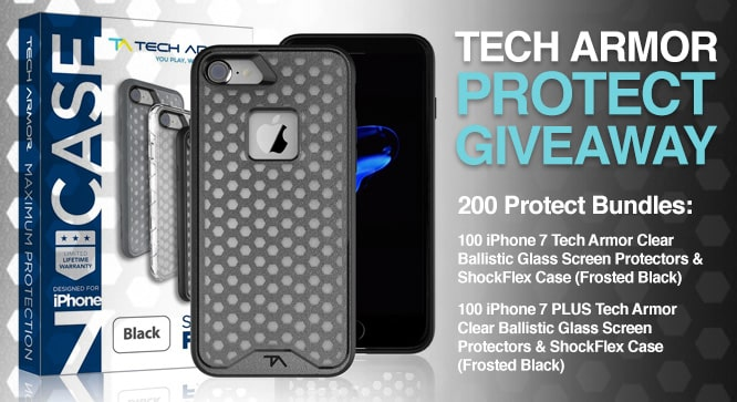 Tech Armor Protect Giveaway
