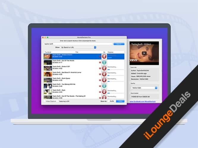 Daily Deal: MovieSherlock Pro Video Downloader for Mac — one-day special price of $12