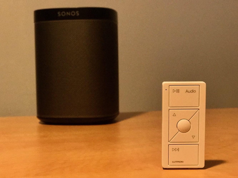 Lutron Pico Remote Control for Audio