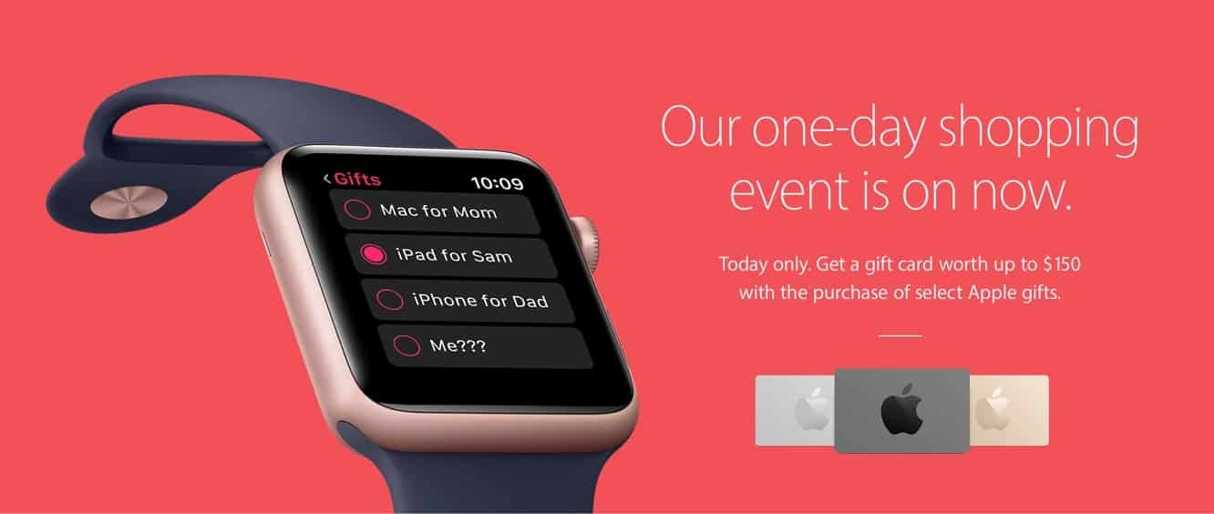 Apple Black Friday deals kick off in U.S. and Canada
