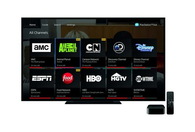 Sony brings PlayStation Vue to Apple TV