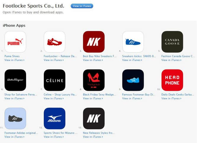 Hundreds of fake retail apps appear on App Store