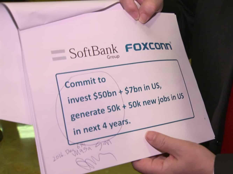 Top Apple supplier Foxconn planning U.S. investment