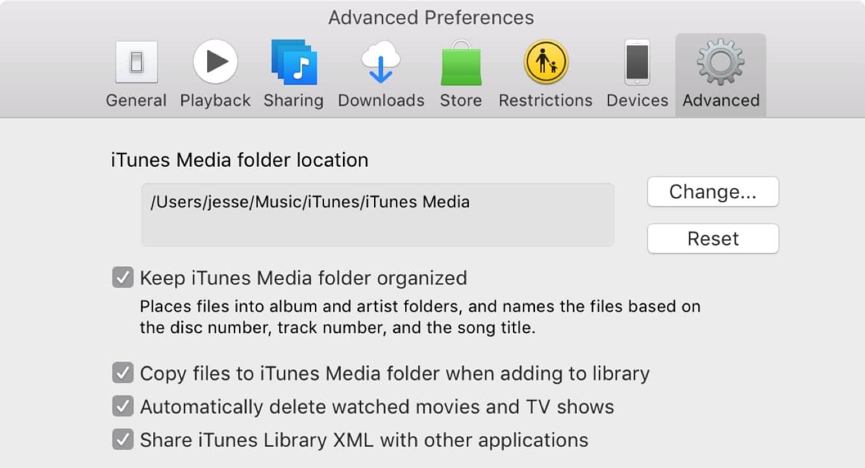 Optimizing iTunes Media Storage in macOS Sierra