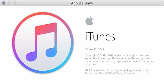 Apple releases iTunes 12.5.5