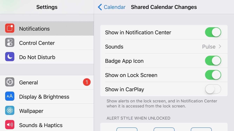 Disabling App Notifications in CarPlay