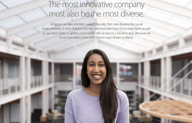 Shareholders seek more diversity in Apple upper management