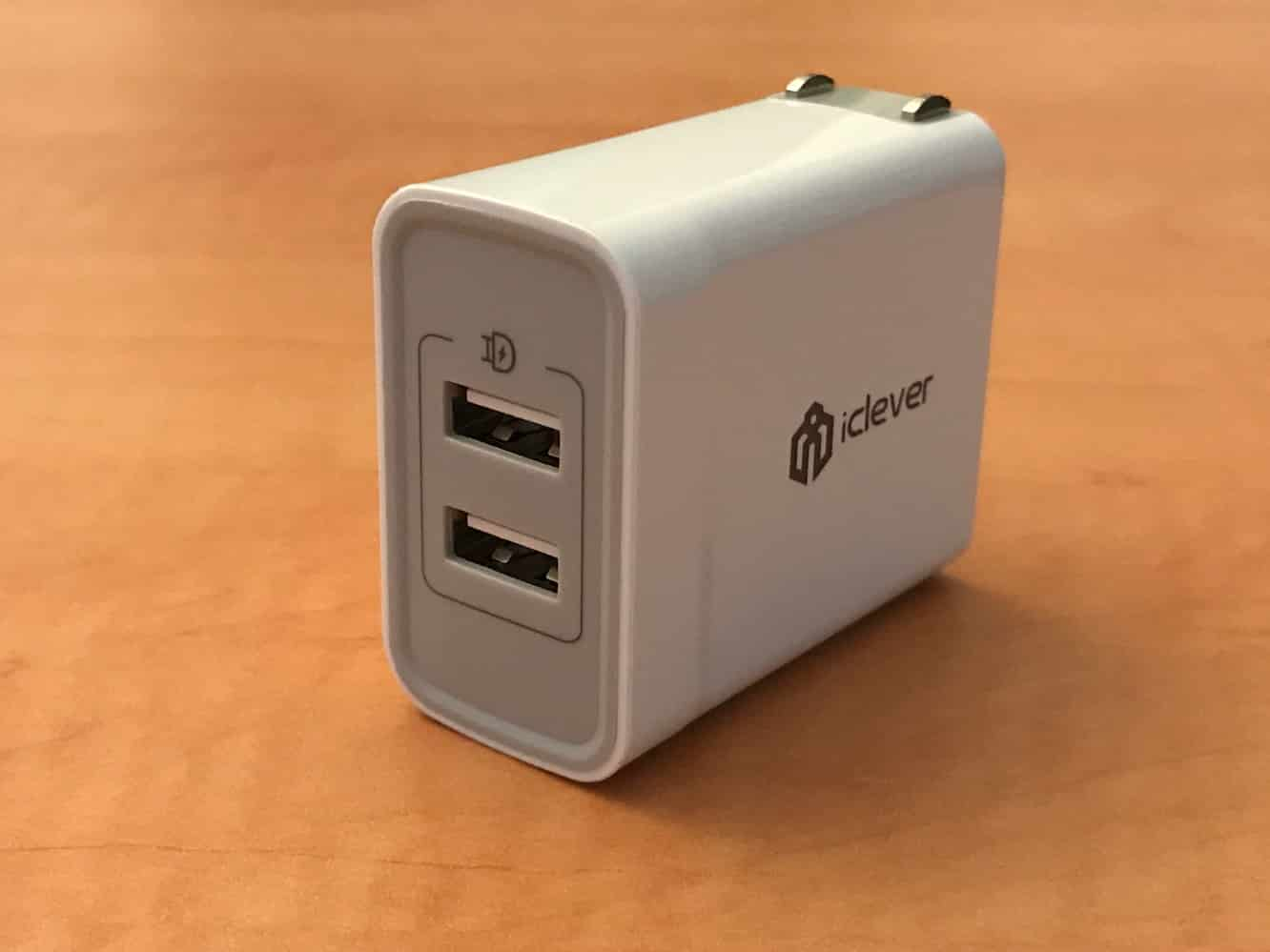 iClever BoostCube Dual Port USB Wall Charger