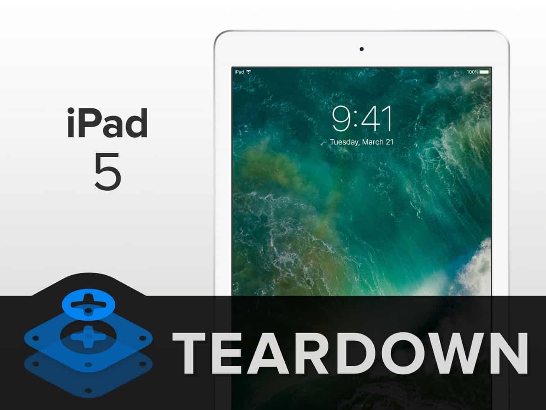 iFixit posts teardown of the new iPad