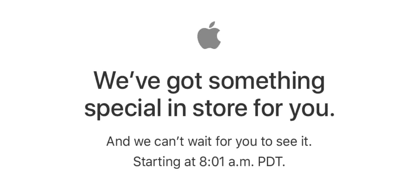 Apple Store down again ahead of new iPad, Product(RED) iPhone launch