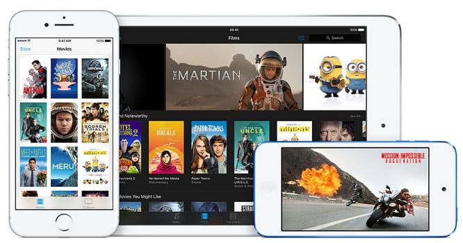 Apple releases iTunes 12.6 with new cross-device movie rental feature