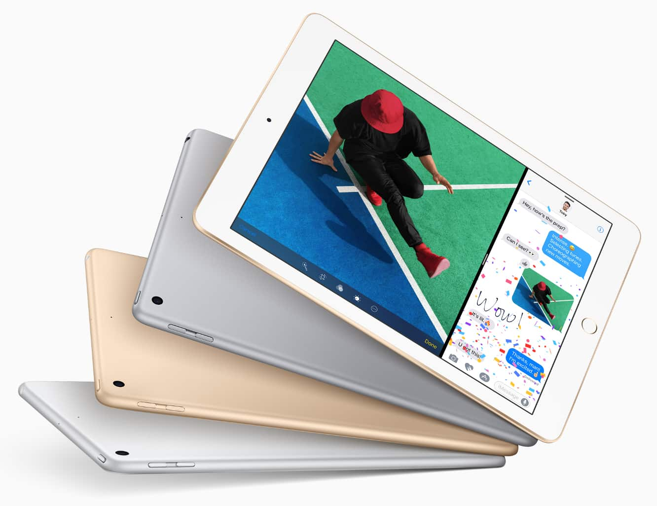 """Apple unveils new upgraded entry-level 9.7"""" iPad, replacing iPad Air 2"""