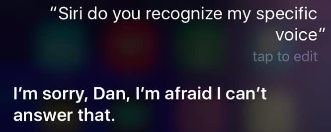 Apple patent hints at improvement to let Siri recognize specific voices