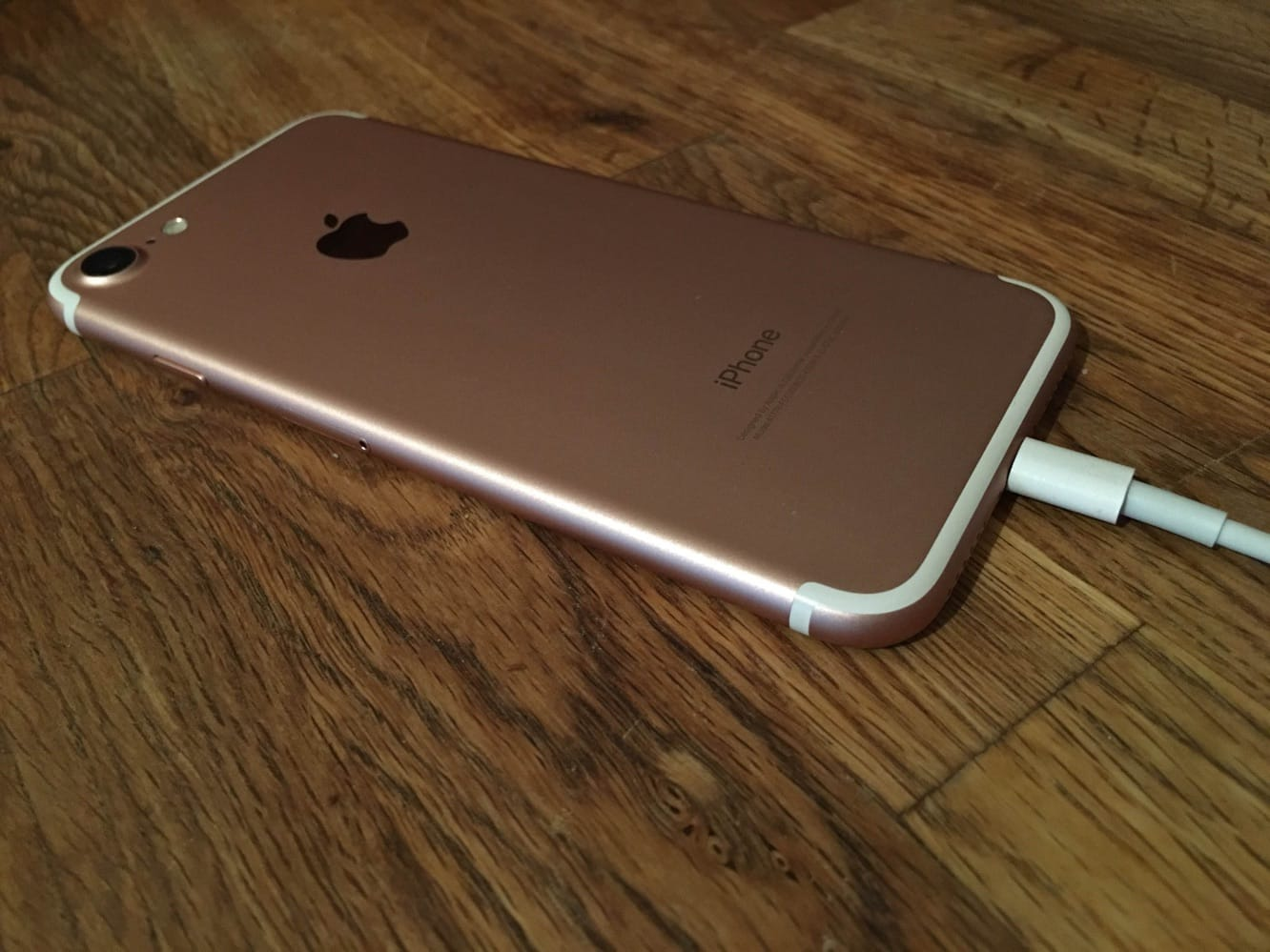 Plugging your iPhone in silently