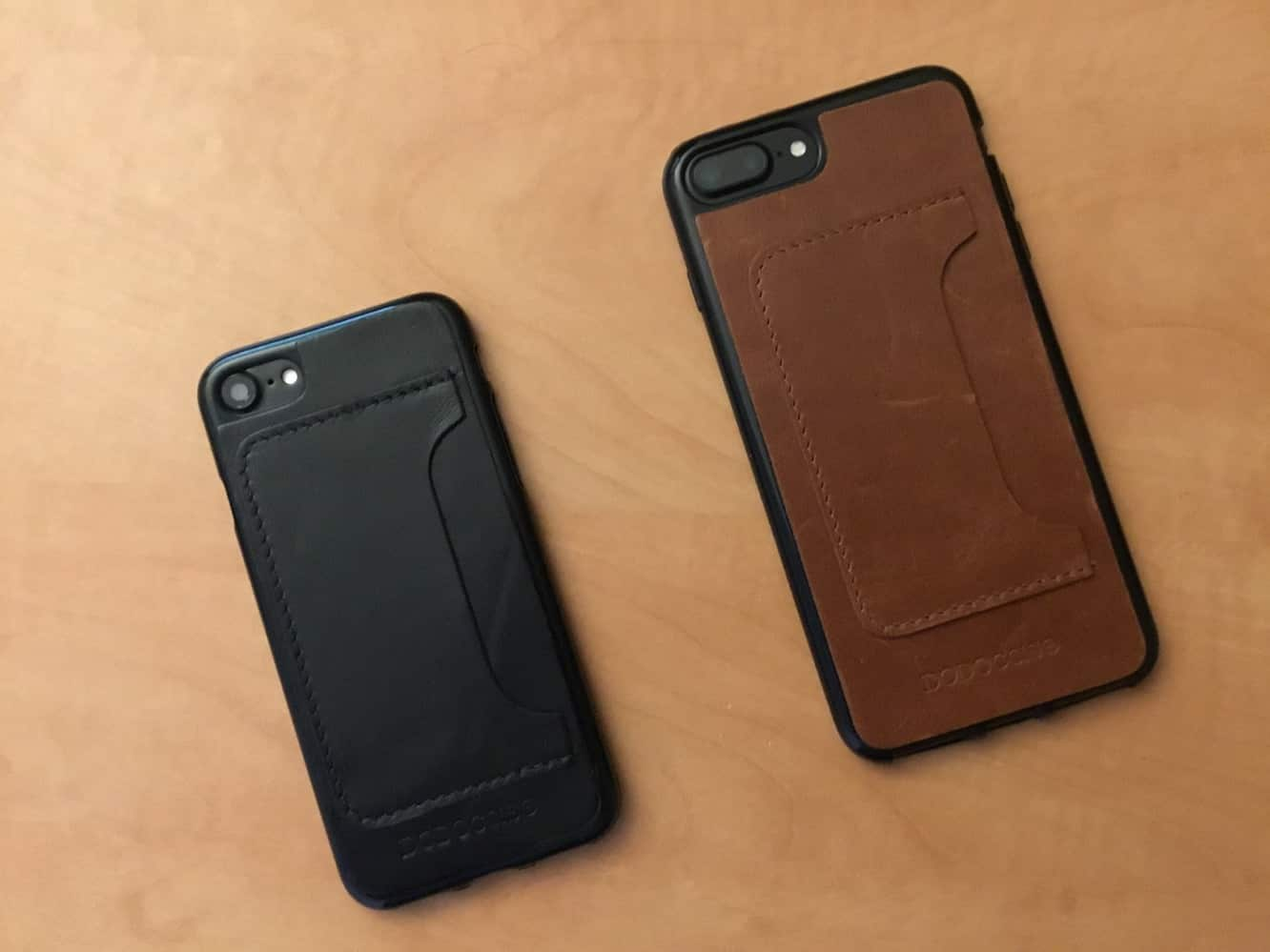 DODOcase Leather Card Case for iPhone 7 and iPhone 7 Plus