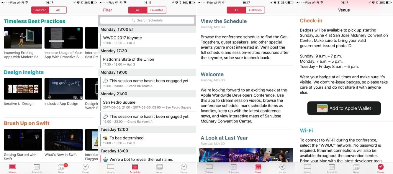Apple releases WWDC app update ahead of next week's event