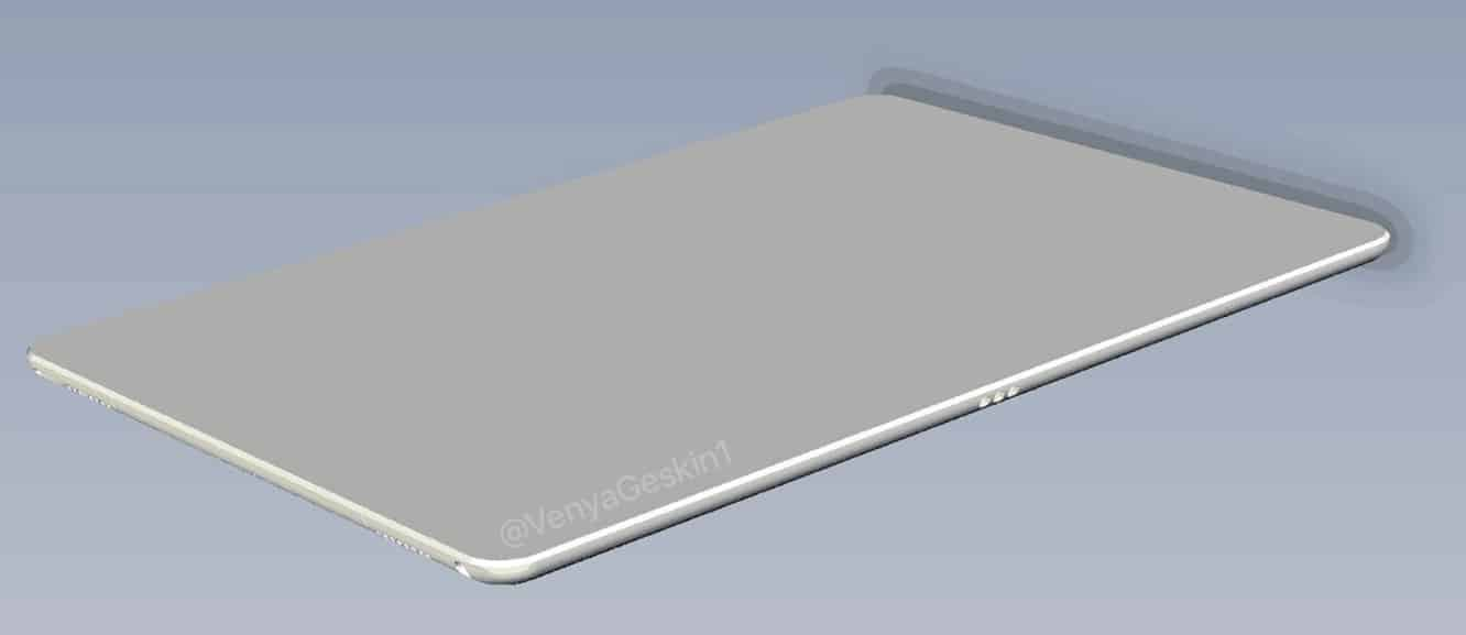 """Cases and renderings show possible new 10.5"""" iPad Pro design"""