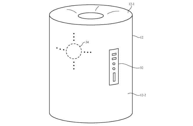 Apple patents construction method for cylindrical device that could be Siri speaker