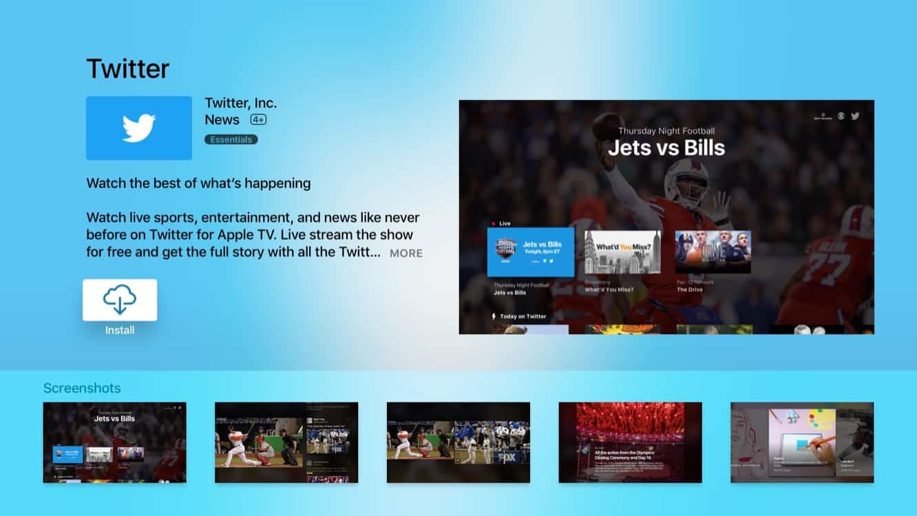 Twitter and NFL to stream year-round live daily programming worldwide