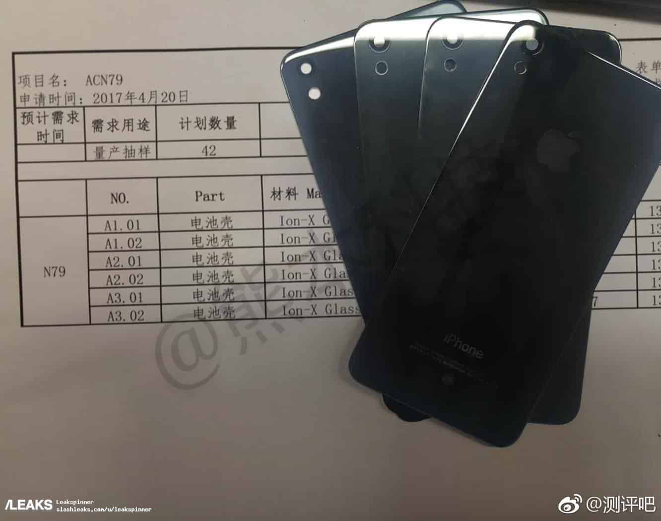 Leaked photo allegedly shows new glass-backed iPhone SE model
