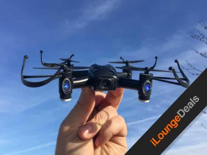 Daily Deal: Aerix Black Talon 2.0 Micro FPV Beginner Racing Drone