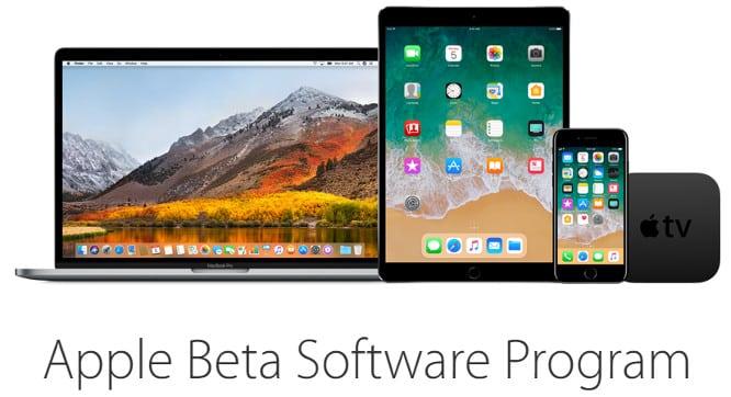 Apple releases first iOS 11, tvOS 11 public betas, updates to developer betas