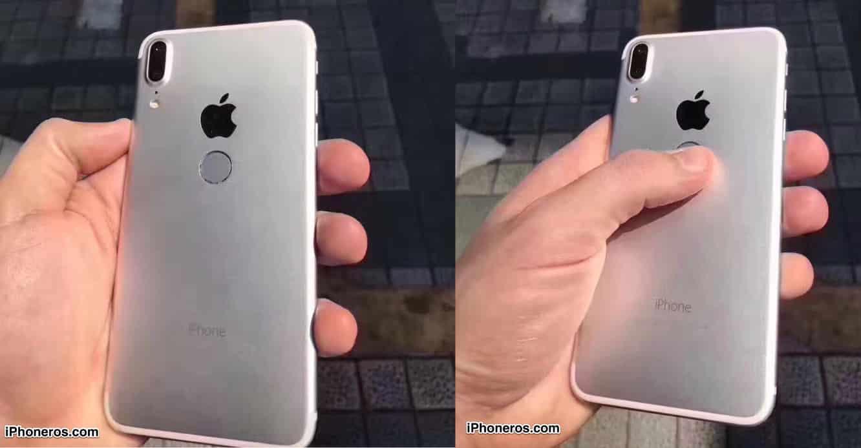 New leaks back under-glass fingerprint scanner in iPhone 8, 2018 Macbook with customizable keyboard