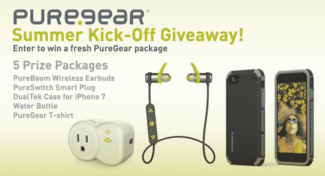 PureGear Summer Kick-Off Giveaway – Winners Announced