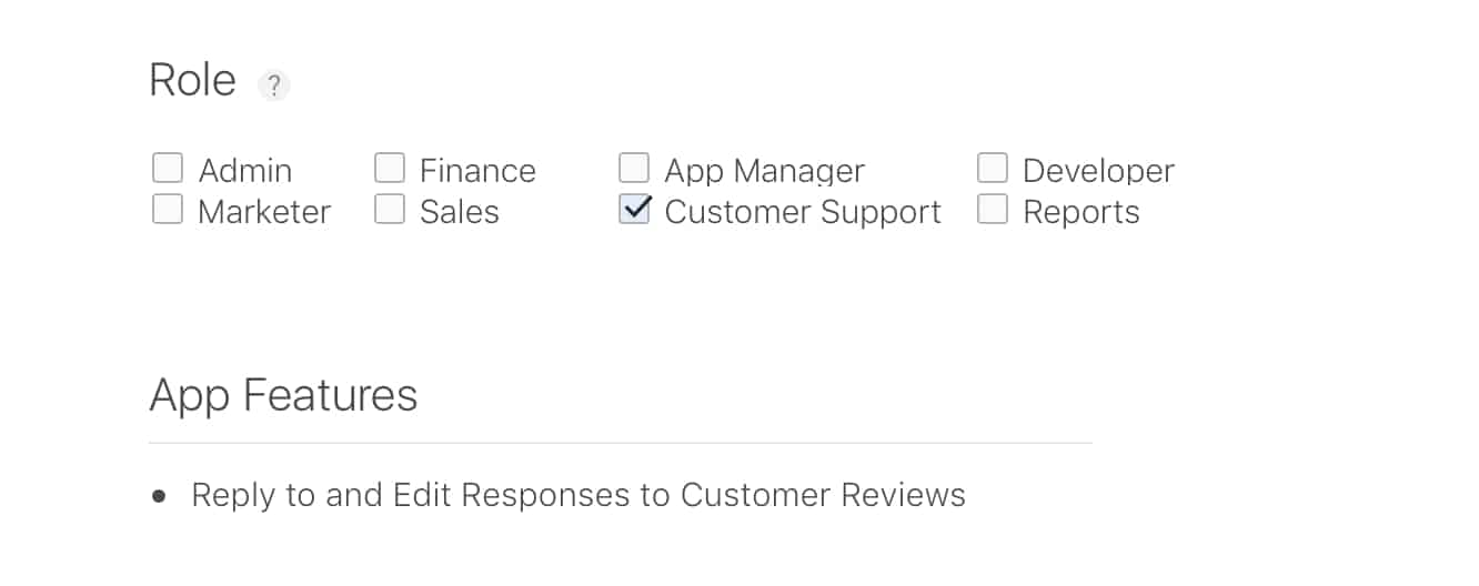 Apple adds new 'Customer Support' role for App Developers