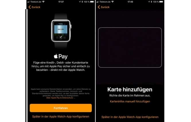 Fifth beta of iOS 11 hints at German Apple Pay rollout
