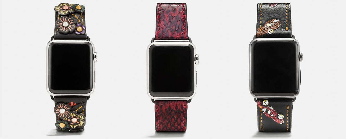 Coach releases new and updated Apple Watch bands
