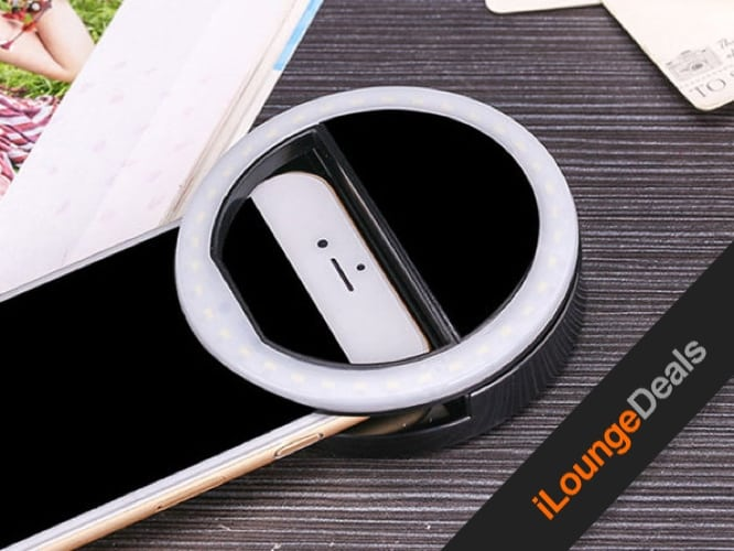 Daily Deal: Clip On Smartphone LED Selfie Light