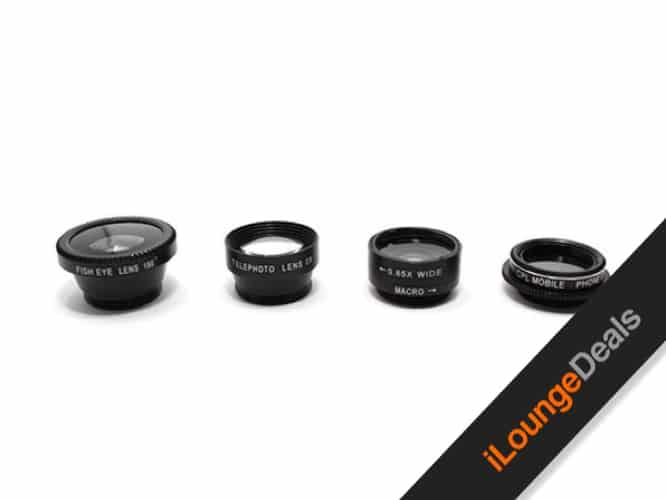 Daily Deal: 5-in-1 Clip & Snap Smartphone Camera Lenses