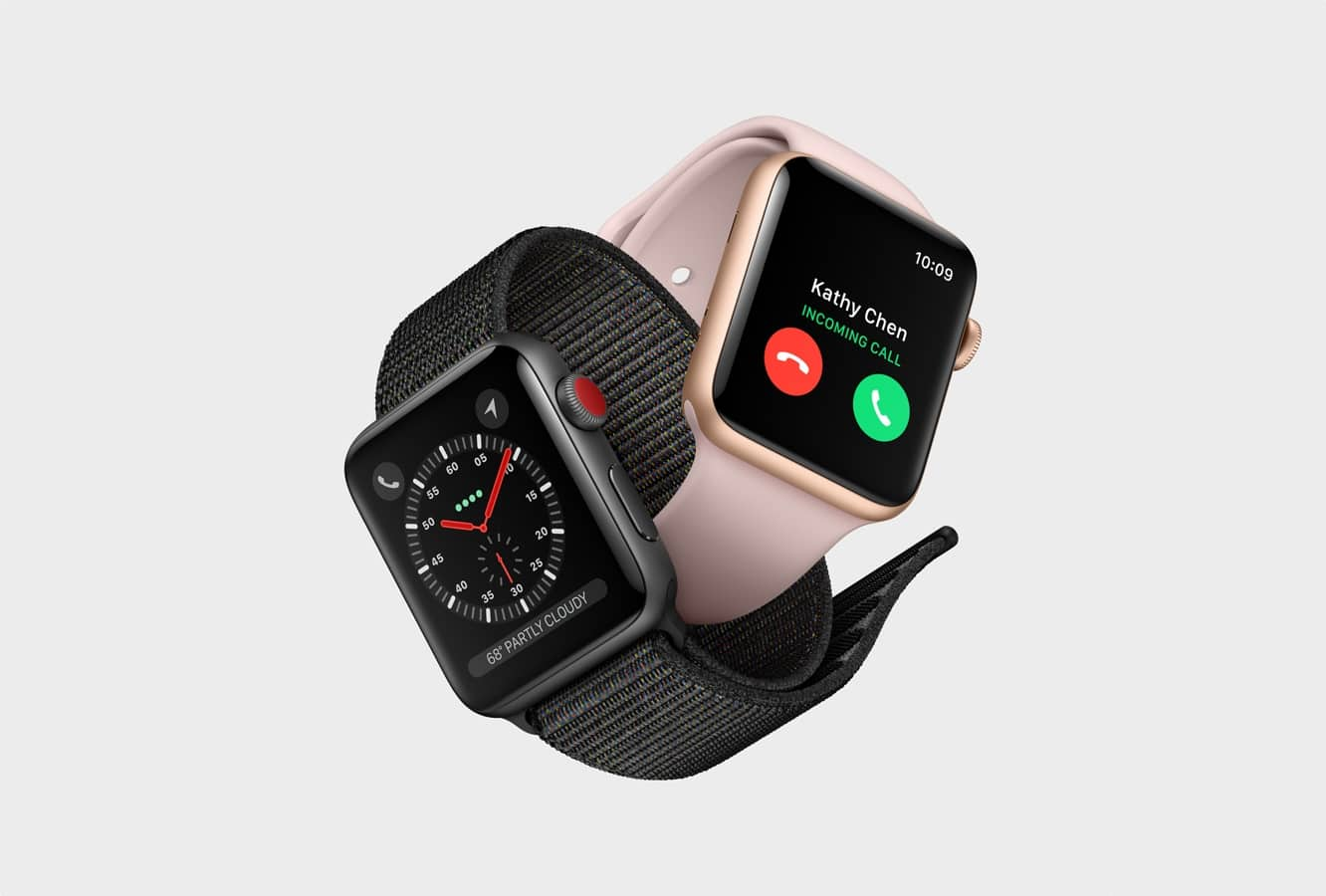 U.S. Apple Watch Series 3 Cellular models will only work on U.S. carriers