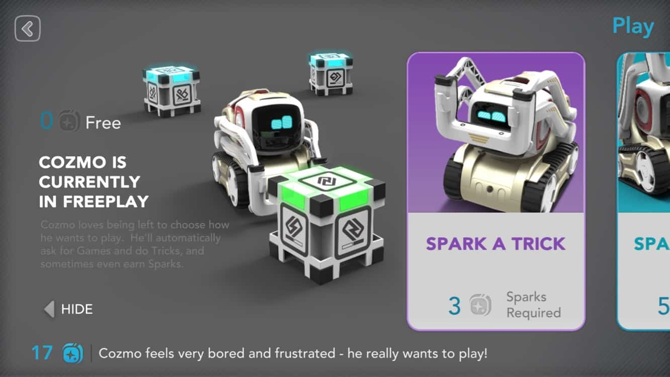 Cozmo updates companion app to add new challenges, more depth to robot's AI